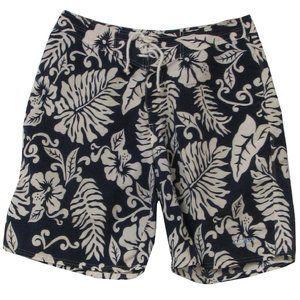 Vintage OP Ocean Pacific Tropical Board Shorts 33